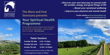 Your Spiritual Health Taster Sessions tickets