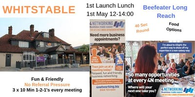 4Networking Whitstable launch - Business networking Lunch