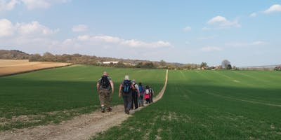 Canterbury Pilgrim Festival- Chilham to Canterbury guided walk with Walk Awhile Walking Holidays