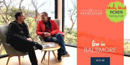 Wellness Leadership Revolution - Baltimore | November 20, 2019