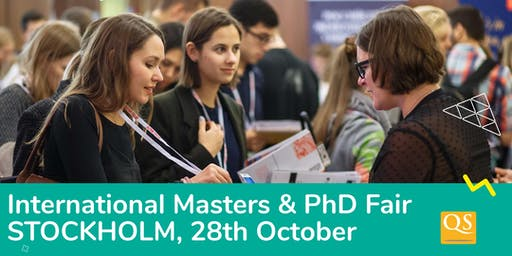 International Masters and PhD fair in Stockholm