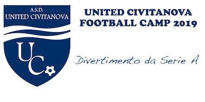 UNITED CIVITANOVA FOOTBALL CAMP 2019 - DIVERTIMENTO DA SERIE A