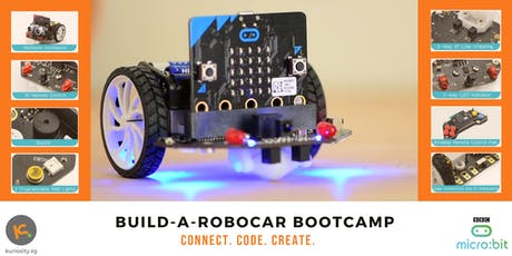 Build-A-Robocar with micro:bit: 2-Days Bootcamp (20 & 27 July 2019) tickets