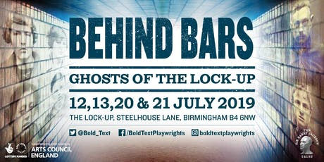 Behind Bars: Ghosts of the Lock-up tickets