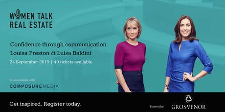 Confidence through communication with BBC's Louisa Preston and Luisa Baldini  tickets
