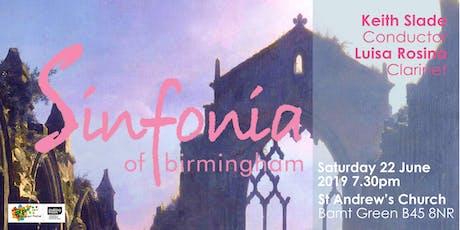 Sinfonia of Birmingham in Barnt Green | Mozart and Mendelssohn tickets