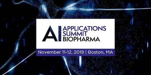 AI Applications Summit | Biopharma 2019