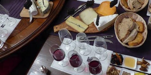 French Cheese and Wine Tasting Evening 29/11/2019