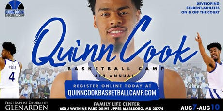 4th Annual Quinn Cook Basketball Camp tickets