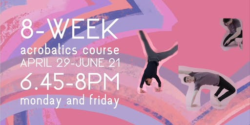 8 Week Acrobatics Course at SharedSpace