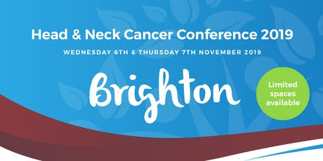 Head & Neck Cancer International Conference 2019 (#HNCCONF2019) Day2 tickets