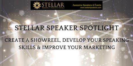 Stellar Speaker Spotlights tickets