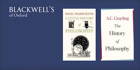 Philosophy in the Bookshop - Nigel Warburton and A C Grayling tickets
