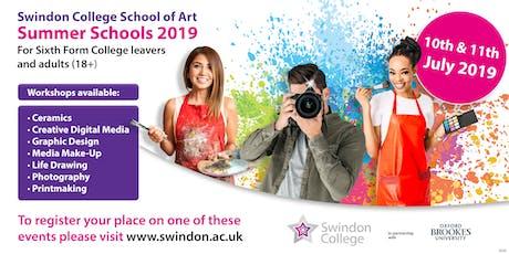 Swindon College School of Art Summer Schools tickets