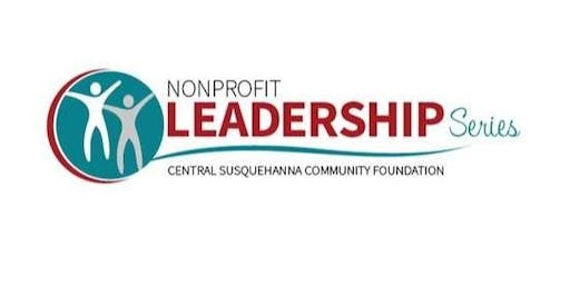 2019 Nonprofit Leadership Series