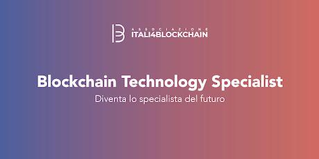 CORSO BLOCKCHAIN TECHNOLOGY SPECIALIST_Milano | Dicembre biglietti