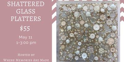 Shattered Glass Platters