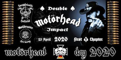 MOTÖRHEAD DAY 2020 - German Memorial tickets