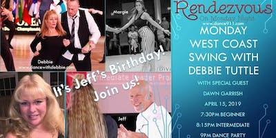 Monday West Coast Swing with Debbie & Special Guest Dawn Garrish
