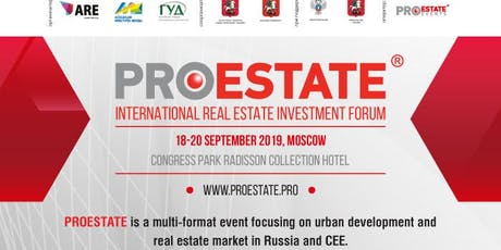 PROEstate International Real Estate Investment Forum tickets