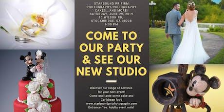 Grand Opening! Starbound Photo & Video Studio.   tickets