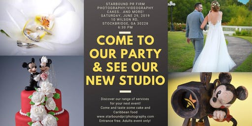 Grand Opening! Starbound Photo & Video Studio.