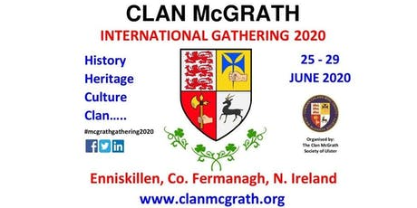 Clan McGrath International Gathering 2020 tickets