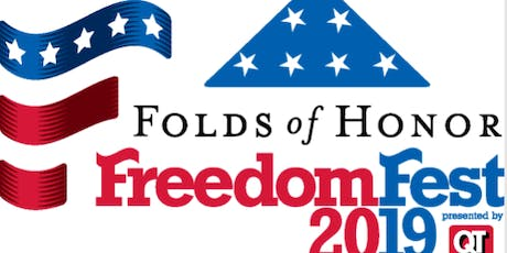 4th of July FreedomFEST Volunteers 2019 tickets