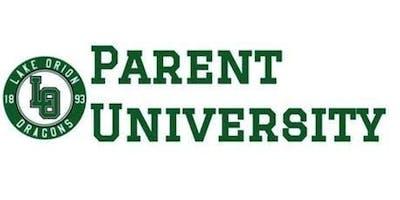 Parent University: Kindergarten Readiness