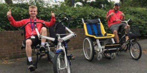 Adapted Bikes @ Parks Sport Centre