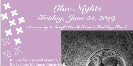 Lilac Nights 2019 tickets