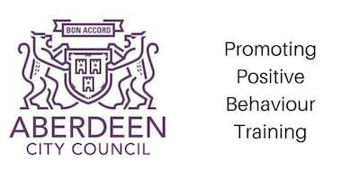 Promoting Positive Behaviour Training