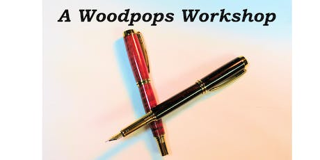 Make a Wood Fountain Pen on the Lathe - Woodpops Woodturning tickets