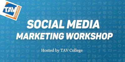 Social Media Marketing Workshop at TAV College with Mariella Katz