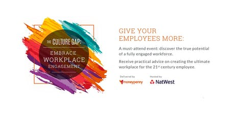 The Culture Gap: Embrace Workplace Engagement #HR #Leadership tickets