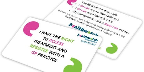 Rights to Access Healthcare Workshops tickets