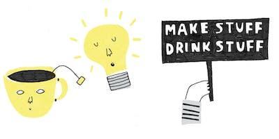 MakeStuff/DrinkStuff Mini Zine stuff