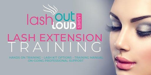 Lash Out Loud Eyelash Extension Training