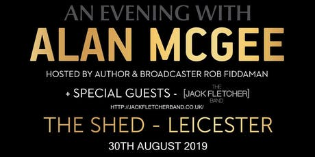 An Evening with Alan McGee (Oasis) - 30th August tickets