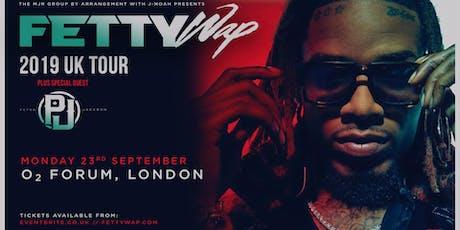 Fetty Wap (O2 Forum, London) tickets