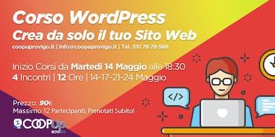 Corso WordPress - Crea da solo il tuo sito web!