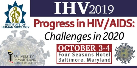IHV2019-Progress in HIV/AIDS: Challenges in 2020 tickets