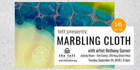 Marbling Cloth & Paper – A step-by-step Guide tickets