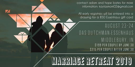 Marriage Retreat 2019
