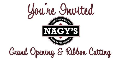 Nagy's Collision Hartville Grand Opening & Ribbon Cutting tickets