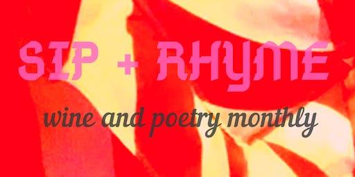 Sip + Rhyme Sundays
