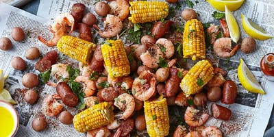 Low Country Boil at LandShark Landing