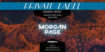 Private Label Presents: Morgan Page