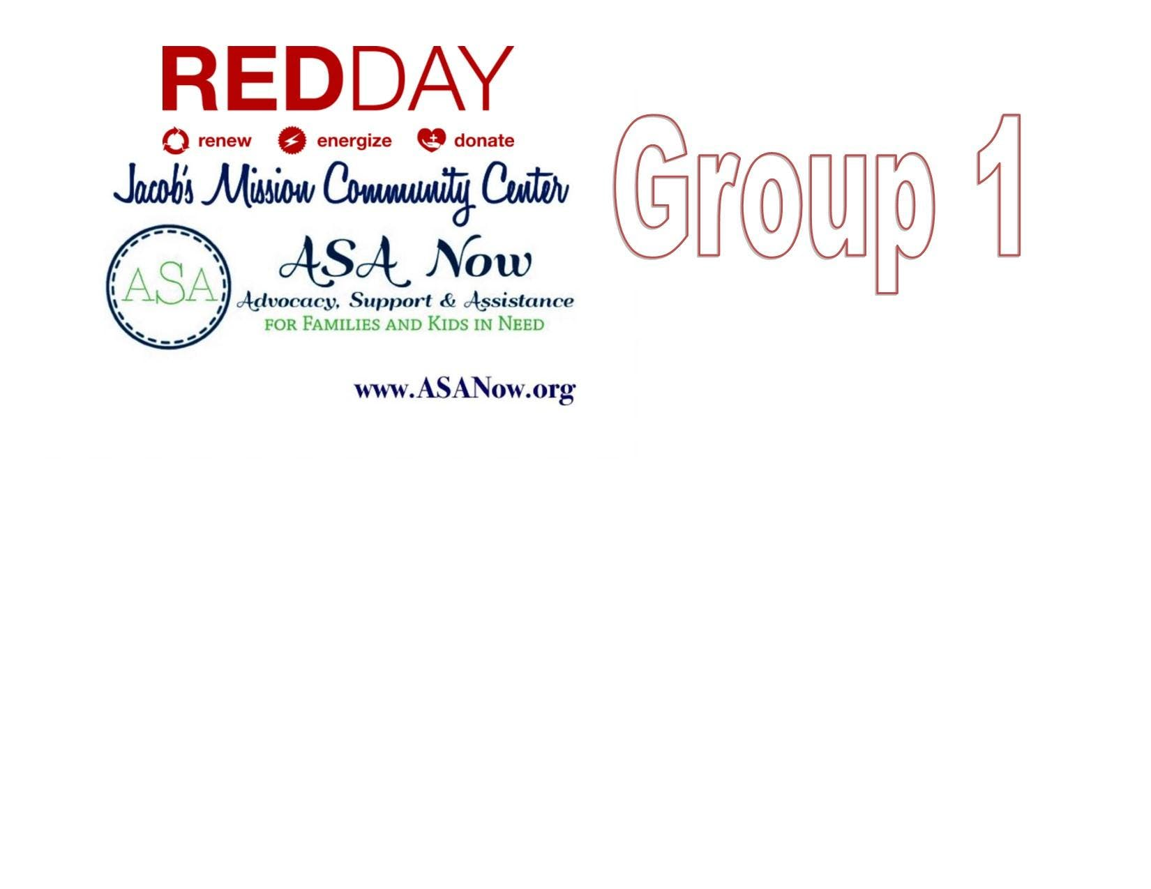 KWIF RED DAY- Jacob's Mission Community Center
