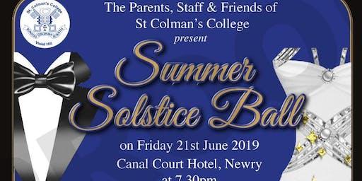St Colman's College Summer Solstice  Black Tie Ball 2019